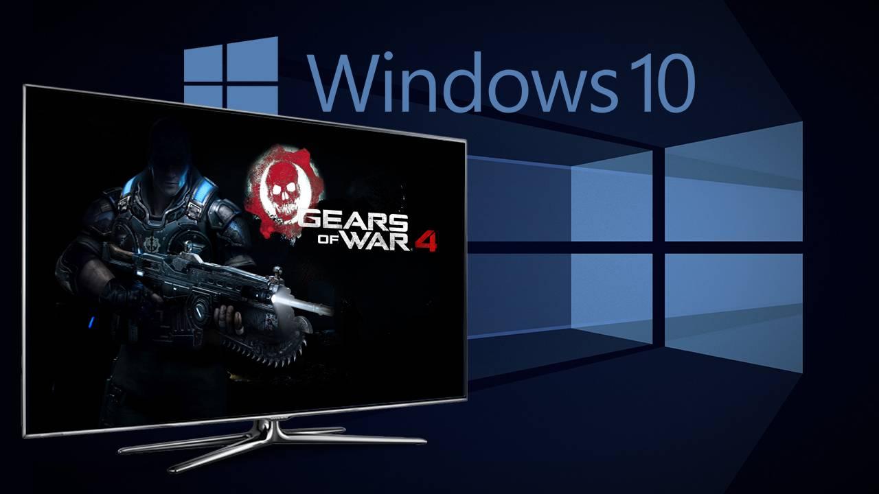Gears of War 4 cross-play