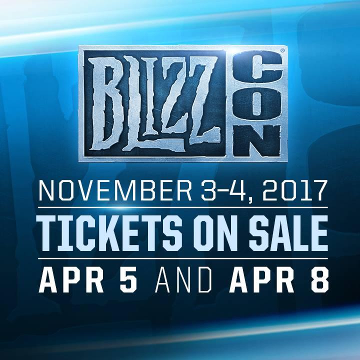 Blizz Con 2017 Details